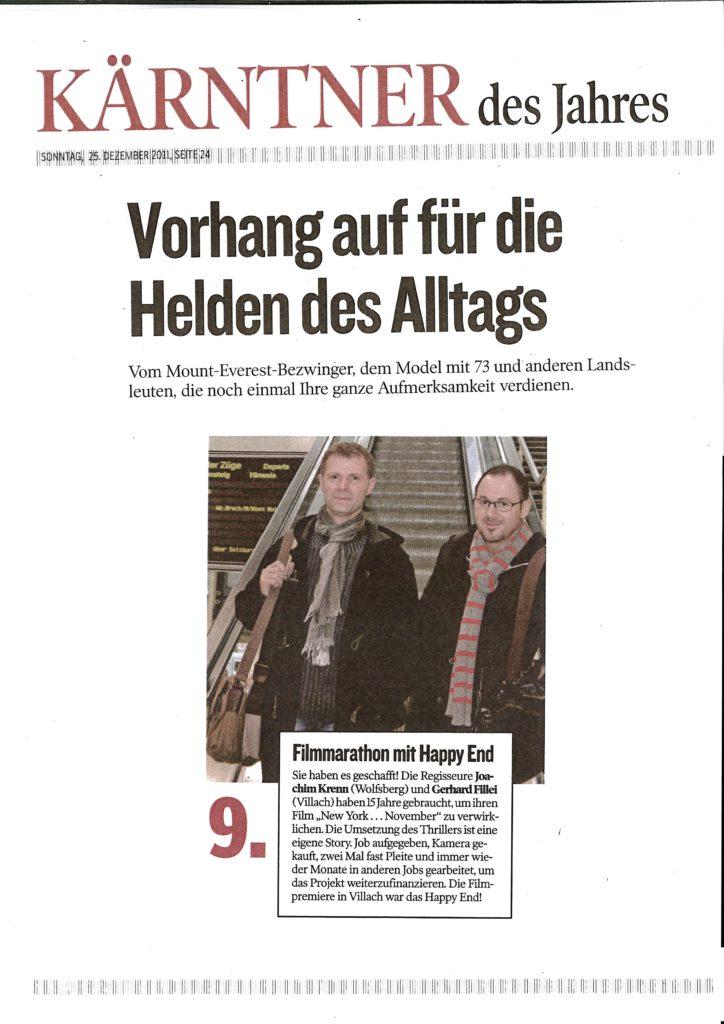 Gerhard Fillei und Joachim Krenn