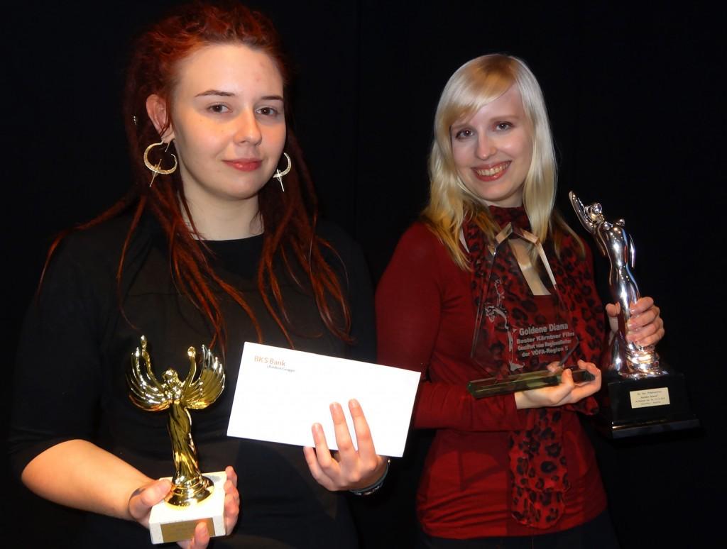 Unsere Preisträger des 26. Int. Filmfestivals der Goldenen Diana am Klopeiner See