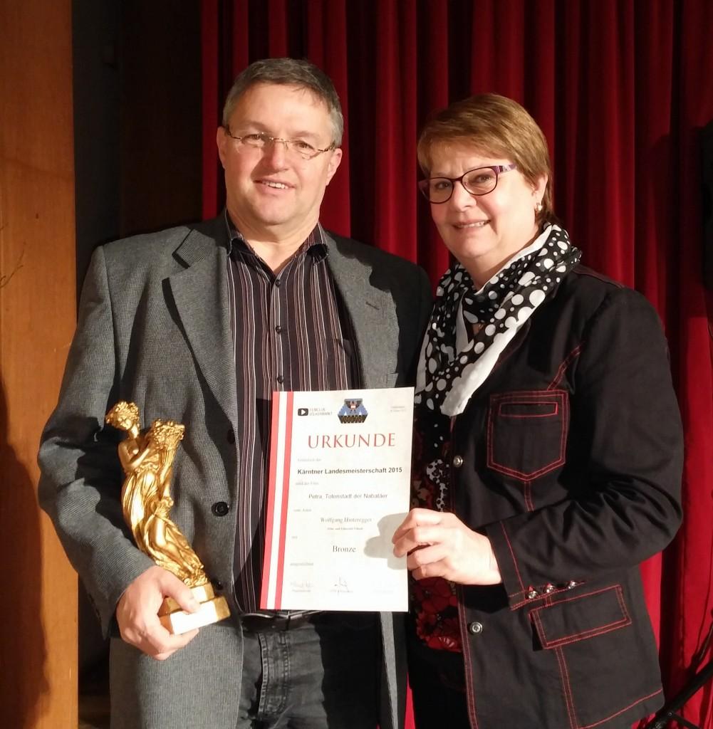 Bronze für Wolfgang Hinteregger