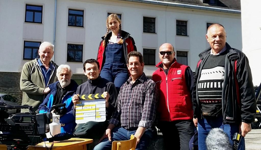 Das Filmteam zu unserem zweiten Minutencup-Gemeinschaftsfilmprojekt 2015